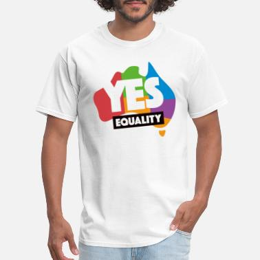 Marriage yes vote in marriage equality - Men's T-Shirt