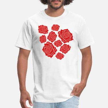 The Beets many flowers roses pattern tulip plant garden gard - Men's T-Shirt