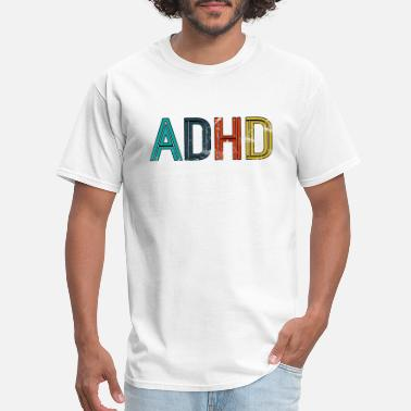 Homosexual Boys ADHD Gay LGBT Pride Awareness Gift Homosexual - Men's T-Shirt