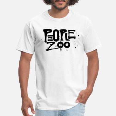 Fucked Zoo People Zoo Design 1 - Men's T-Shirt