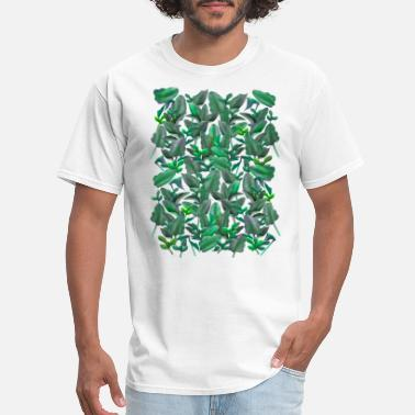 Tropical Leaves Tropical Leaves Pattern TSHIRT - Men's T-Shirt