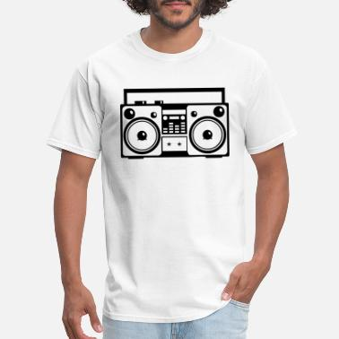Shop Stereo Music Boombox T-Shirts online | Spreadshirt