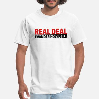 Deal Real Deal Evander Holyfield mp - Men's T-Shirt