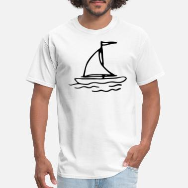 Valentine's Day Valentine s Day Boat Compass Rose Matching Couple - Men's T-Shirt