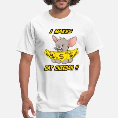 Cash Mouse Cheese Money 2 - Men's T-Shirt