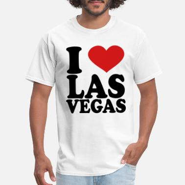 I I Love Las Vegas - Men's T-Shirt