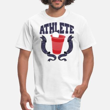 College Beer Pong Athlete - Men's T-Shirt