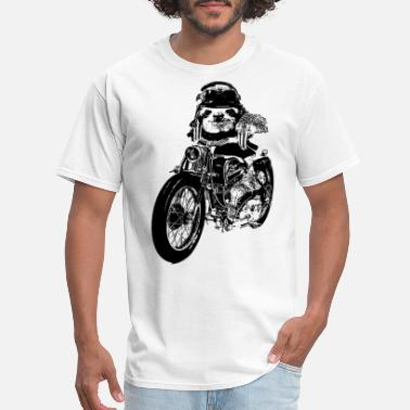 The Goonies KIDS Motorcycle SLOTH Premium vintage soft Tee Fin - Men's T-Shirt