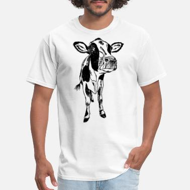 Womens Bella Canvas Cow Tee Animal Womens Clothing - Men's T-Shirt