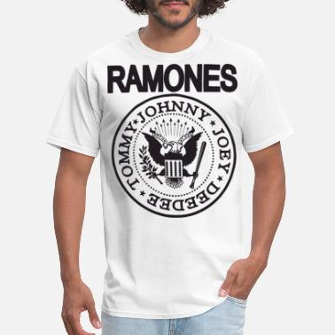Ramones The Ramones T Shirt Punk Rock Raglan Baseball Tee - Men's T-Shirt
