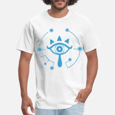 Wild Eyes Nintendo Zelda Breath of the Wild Sheikah Eye Logo - Men's T-Shirt