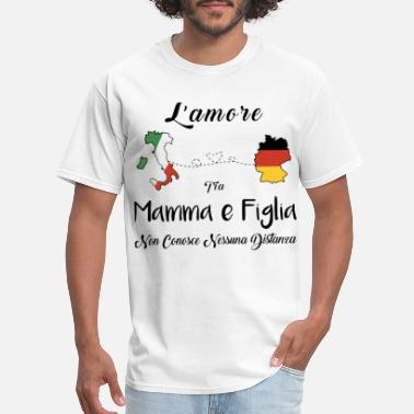 Kiss My Ass Fuck Me mamma e figlia italia irish - Men's T-Shirt