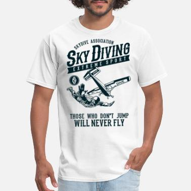 Skydiving Sky Diving Extreme Sports Design - Men's T-Shirt