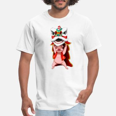 Chinese Dragon Pig Dragon - Men's T-Shirt