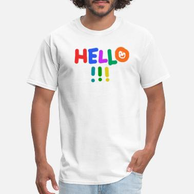 Summer Colors hello summer colorful present - Men's T-Shirt