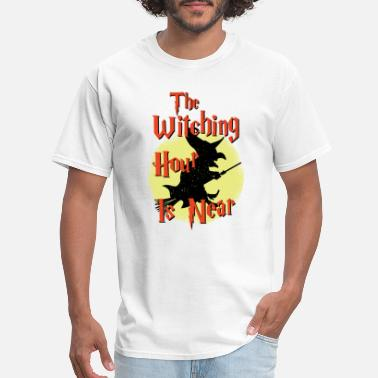 Witching Hour Halloween The Witching Hour Is Near - Men's T-Shirt