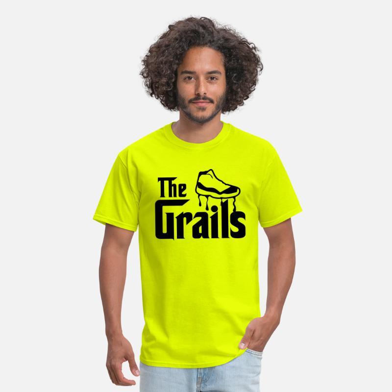 8bcfdd45ab4 the grails jordan 11 graphics Men's T-Shirt | Spreadshirt