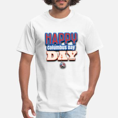 T-Shirts and dresses to mark American columbus Day - Men's T-Shirt