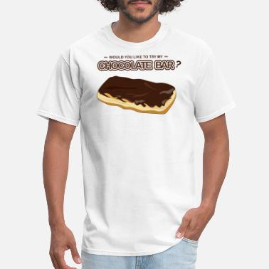 John Brown Sweet Tooth Collection Chocolate Bar - Men's T-Shirt