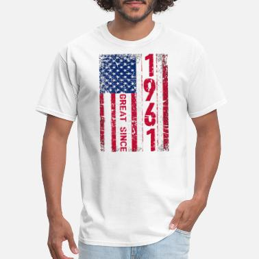 Indian Girl 57rd Birthday TShirt MAKING AMERICA GREAT SINCE 19 - Men's T-Shirt