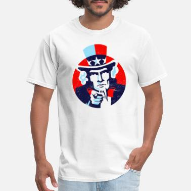 American Uncle Sam Wants You UNCLE SAM I Want You - Men's T-Shirt