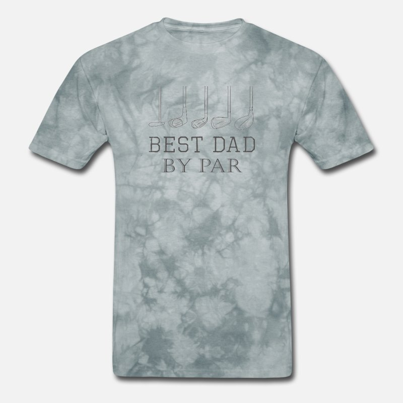 10c1c4e3 Fathers Day Best Dad By Par Golfer Gift Design on Men's T-Shirt |  Spreadshirt