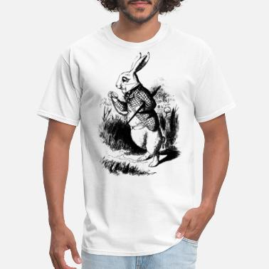 Classic Alice White Rabbit - Alice In Wonderland - Men's T-Shirt