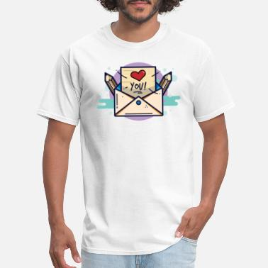 Love Letters Love Letter - Men's T-Shirt
