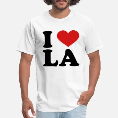 I I Love LA - Men's T-Shirt