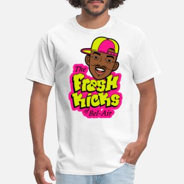 Air Bubbles Fresk Kicks of Bel Air neon - Men's T-Shirt