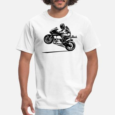 Motorcycle Racing hot-rider-bikers-racing-sport-motorcycling - Men's T-Shirt