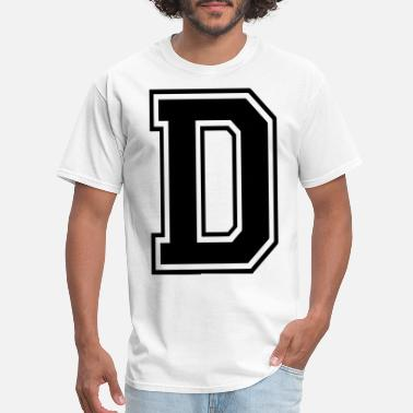 32ca1216a Shop Letters Of The Alphabet T-Shirts online | Spreadshirt