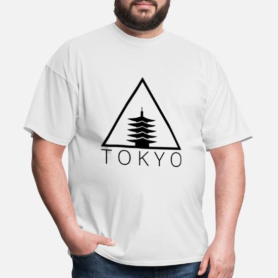 fafb72731 Tokyo Hipster Triangle Men's T-Shirt | Spreadshirt