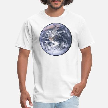 Planet Earth Earth - Planet - The World - Mother Earth - Men's T-Shirt