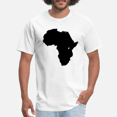 Map Africa - Men's T-Shirt