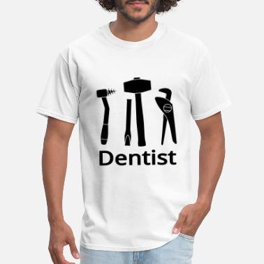 Retired Dentist Dentist - Men's T-Shirt