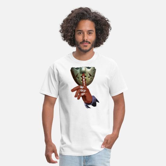 81b89a90 Polynesian Tattoo T-shirts T-Shirts - shut the fuck up strong human men