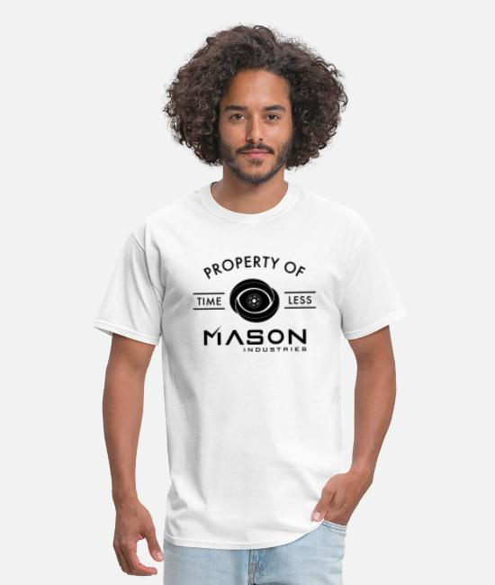 Travel T-Shirts - Timeless - Property Of Mason Industries - Men's T-Shirt white
