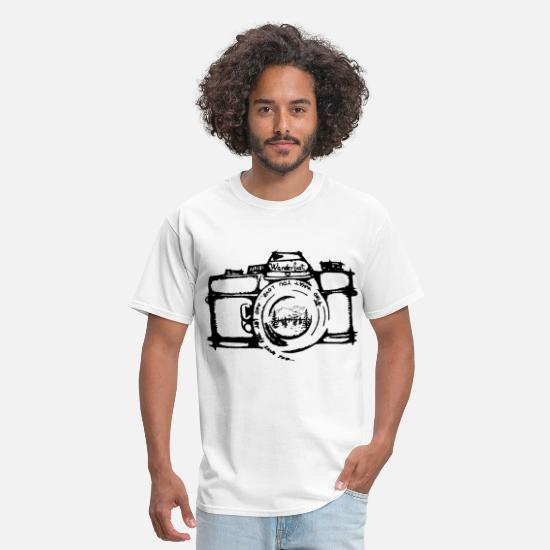 Photography T-Shirts - Limited Edition Youth photography - Men's T-Shirt white