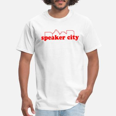 Speaker City - Men's T-Shirt