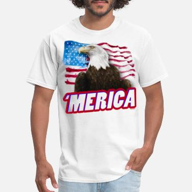 Troops 'Merica T-Shirt | Men's - Men's T-Shirt