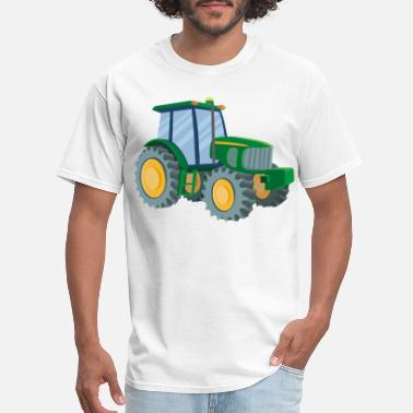 Tractor For Green Tractor - Men's T-Shirt