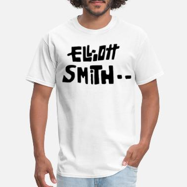 Elliott Smith ELLIOTT SMITH indie acoustic elliot guitar music G - Men's T-Shirt