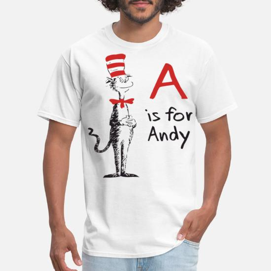 40baf798a7ce Personalized Dr Seuss Cat In The Hat Style B meme Men's T-Shirt ...