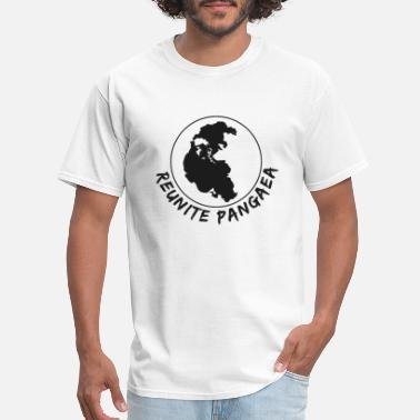 Continents Reunite Pangea Primary Continent - Men's T-Shirt