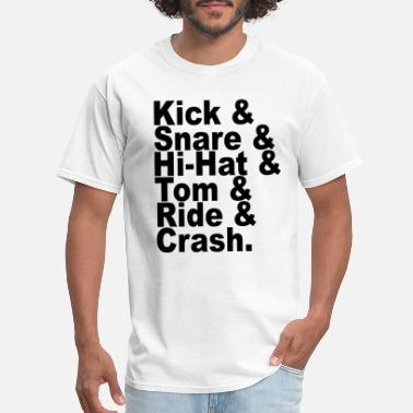 Dave Grohl drum parts - Men's T-Shirt