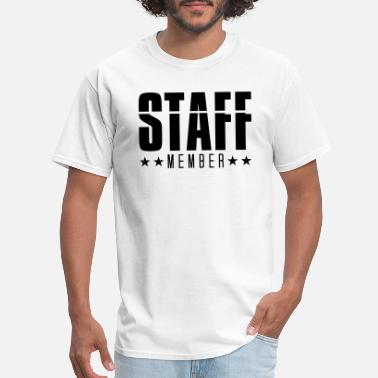 Crew Staff staff member crew member staff security team party - Men's T-Shirt