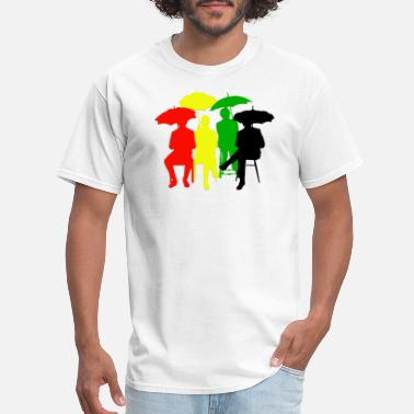 Walter Tv Series beatles rasta - Men's T-Shirt