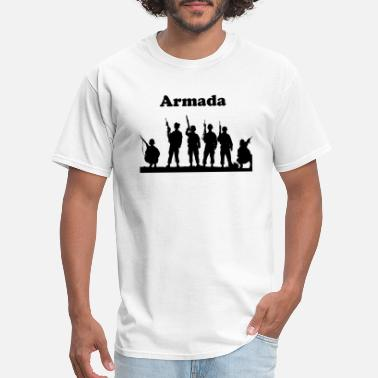 Military Training Armada Shirt. Military Style - Men's T-Shirt