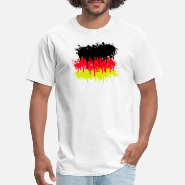 Flag Of Germany germany flag, germany, soccer - Men's T-Shirt